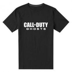 Мужская стрейчевая футболка Call of Duty Ghosts Logo - FatLine