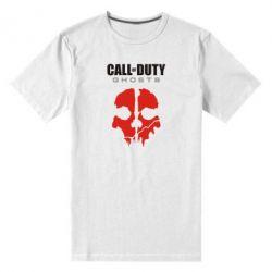 Мужская стрейчевая футболка Call of Duty Ghosts - FatLine