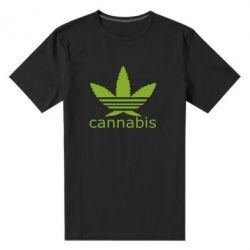 Мужская стрейчевая футболка Cannabis - FatLine