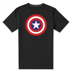 Мужская стрейчевая футболка Captain America