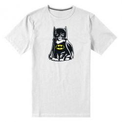 Мужская стрейчевая футболка Cat Batman - FatLine
