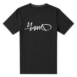 Мужская стрейчевая футболка ЧАЙФ - FatLine