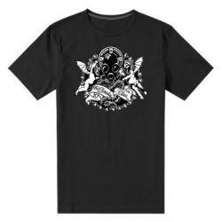 Мужская стрейчевая футболка Chemodan Clan Angels - FatLine