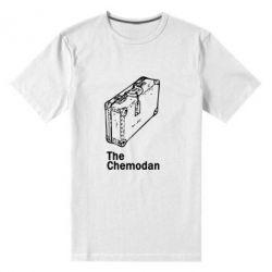 Мужская стрейчевая футболка Чемодан Logo - FatLine