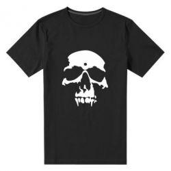 Мужская стрейчевая футболка Череп - FatLine