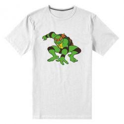 Мужская стрейчевая футболка Черепашки-ниндзя - FatLine