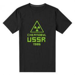 Мужская стрейчевая футболка Chernobyl USSR - FatLine