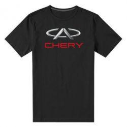 Мужская стрейчевая футболка Chery Logo - FatLine