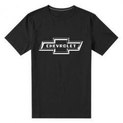 Мужская стрейчевая футболка Chevrolet 3D - FatLine