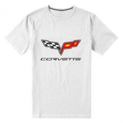 Мужская стрейчевая футболка Chevrolet Corvette