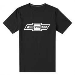 Мужская стрейчевая футболка Chevrolet Log - FatLine