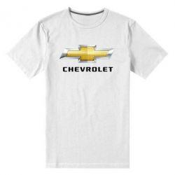 Мужская стрейчевая футболка Chevrolet Logo - FatLine