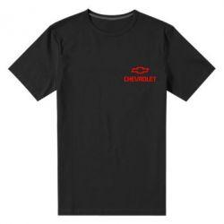 Мужская стрейчевая футболка Chevrolet Small - FatLine