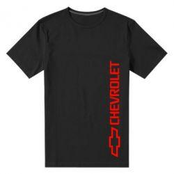 Мужская стрейчевая футболка Chevrolet  Vert - FatLine