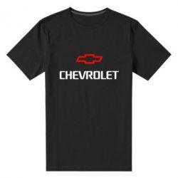 Мужская стрейчевая футболка CHEVROLET - FatLine