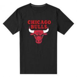 Мужская стрейчевая футболка Chicago Bulls Classic - FatLine