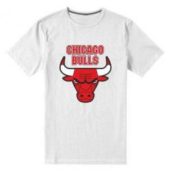 Мужская стрейчевая футболка Chicago Bulls vol.2