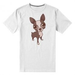 Мужская стрейчевая футболка Чихуахуа