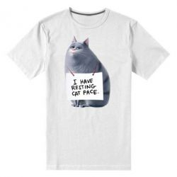 Мужская стрейчевая футболка Chloe