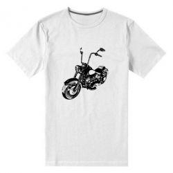 Мужская стрейчевая футболка Чопер - FatLine