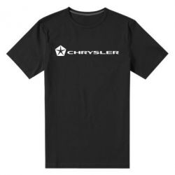 Мужская стрейчевая футболка Chrysler Logo - FatLine