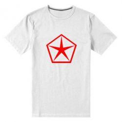 Мужская стрейчевая футболка Chrysler Star - FatLine