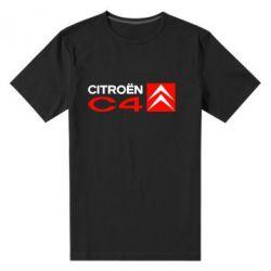Мужская стрейчевая футболка CITROEN C4 - FatLine
