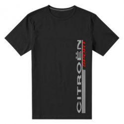 Мужская стрейчевая футболка Citroen Спорт - FatLine