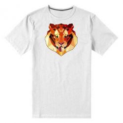 Мужская стрейчевая футболка Colorful Tiger