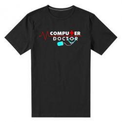 Мужская стрейчевая футболка Computer Doctor - FatLine