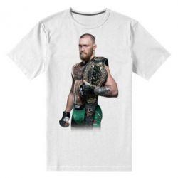 Мужская стрейчевая футболка Conor McGregor Belt - FatLine