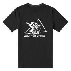 Мужская стрейчевая футболка Counter Strike Gamer - FatLine
