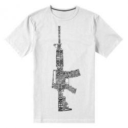 Мужская стрейчевая футболка Counter Strike M16 - FatLine