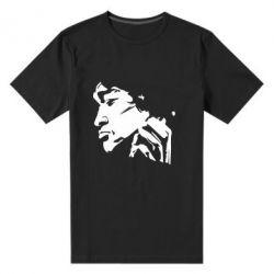 Мужская стрейчевая футболка Цой - FatLine