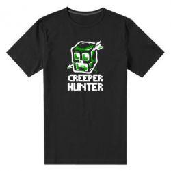 Мужская стрейчевая футболка Creeper Hunter