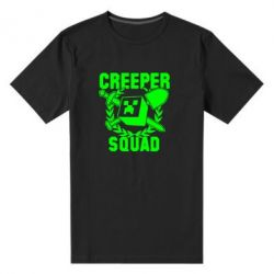 Мужская стрейчевая футболка Creeper Squad - FatLine