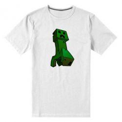 Мужская стрейчевая футболка Creeper - FatLine