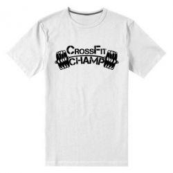 Мужская стрейчевая футболка CrossFit Champ - FatLine