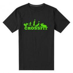 Мужская стрейчевая футболка Crossfit - FatLine