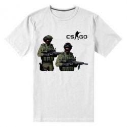 Мужская стрейчевая футболка CS GO - FatLine