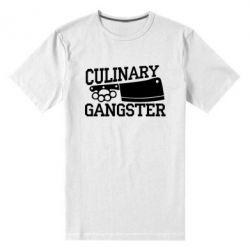 Чоловіча стрейчева футболка Culinary Gangster