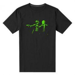 Мужская стрейчевая футболка Daft Punk group