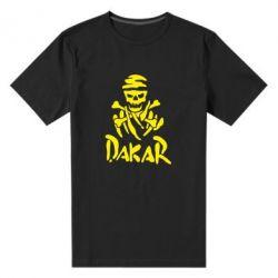 Мужская стрейчевая футболка DAKAR LOGO - FatLine