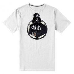 Мужская стрейчевая футболка Дарт Вейдер Арт - FatLine