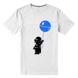 Мужская стрейчевая футболка Дарт Вейдер с шариком - FatLine