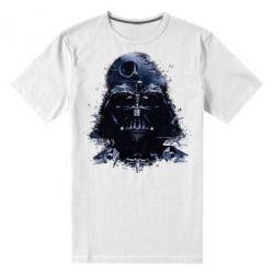 Мужская стрейчевая футболка Darth Vader Space - FatLine