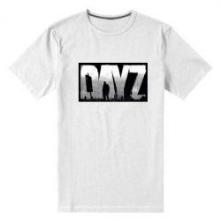Мужская стрейчевая футболка Dayz logo - FatLine