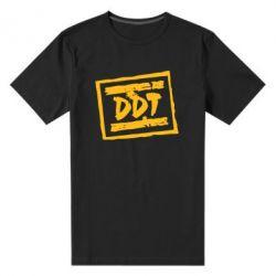 Мужская стрейчевая футболка DDT (ДДТ) - FatLine