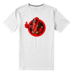 Мужская стрейчевая футболка Deadpool Fallout Boy - FatLine