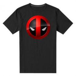 Мужская стрейчевая футболка Deadpool Logo - FatLine